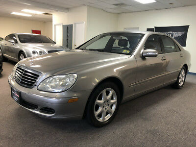2004 Mercedes-Benz S-Class 4Matic Sedan 4-Door low mile free shipping warranty clean carfax s430 cheap finance 2 owner luxury