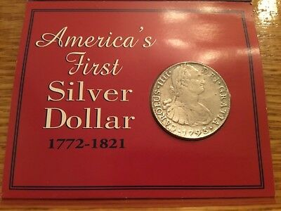 The American Historic Society presents Americas First Silver Dollar