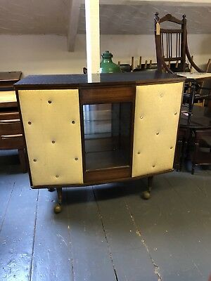 Vintage Retro Mid Century 1950's To 1960's Cocktail Bar. Very Rare Bargain !