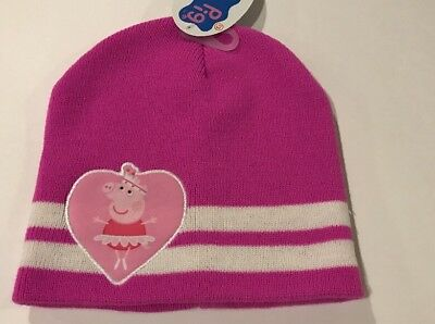 Nwt Girls Peppa Pig Hat
