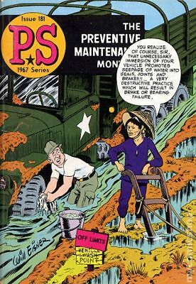 PS The Preventive Maintenance Monthly #181 1967 FN 6.0