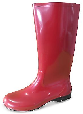 Stridy Women's Red Gumboots - Full Height - New with Tags