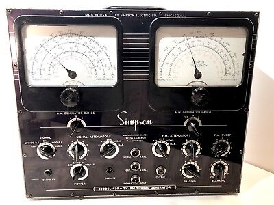Simpson Model 479 Tv-Fm Signal Generator