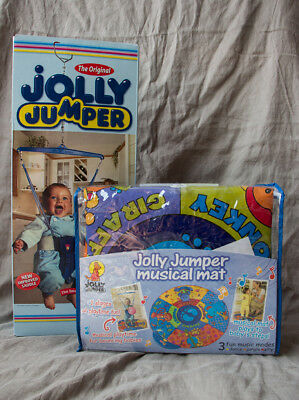 Jolly Jumper With Musical Mat, Matt brand new never used, Jumper used twice