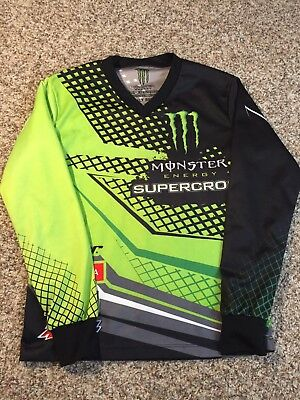 MONSTER ENERGY SUPERCROSS MOTORCROSS MEN'S Small JERSEY