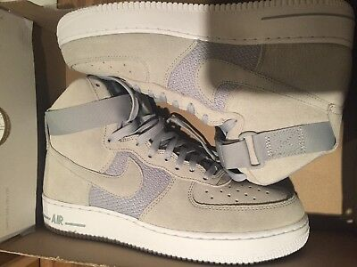 Nike Air Force 1 '07 Men's Size 9 Wolf Grey Pure Platinum White 315121-041 High