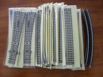 Model Railway Track Assortment - HO/ OO Gauge