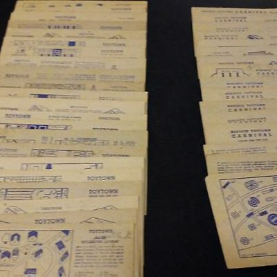 1950s Nabisco Toytown Cards 37 Total