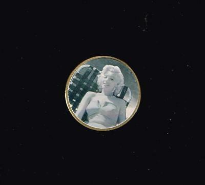 MARILYN MONROE Hologram Metal Pog or Coin ?