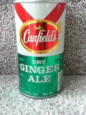 Canfield's Dry Ginger Ale. Straight steel, pull top.Chicago, IL