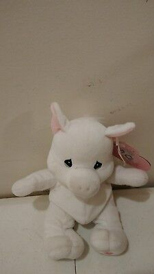 PRECIOUS MOMENTS TENDER TAILS BEAN BAG BEANIE PLUSH ENESCO Fun Club Chester Pig