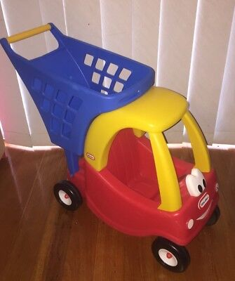 Little Tikes Cozy Coupe Shopping Cart Trolley Pretend Play