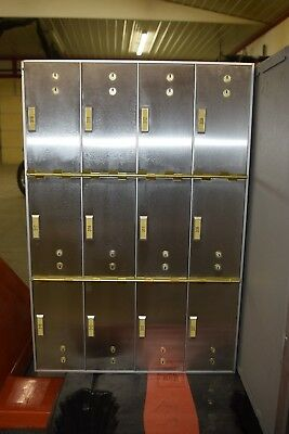 Red Hawk Safety Deposit Boxes 12 Drawers