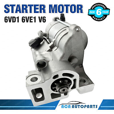 Starter Motor for Holden Jackaroo V6 Rodeo R7 R9 TF RA 6VD1 6VE1 3.2L 3.5L