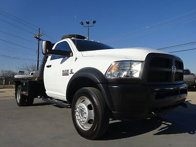 2013 Dodge Ram 5500  2013 DODGE RAM 5500 6CYL 6.7L AUTO 2WD SINGLE CAB 12X8 FLAT BED DUALLY GOOSENECK