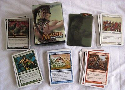 Magic The Gathering MTG 9TH EDITION x131 Common Cards UNPLAYED Preloved Deck Box