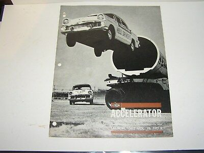 Nasco , Gmh , Accelerator  Holden  Parts  Newsletter . March   , 1962.