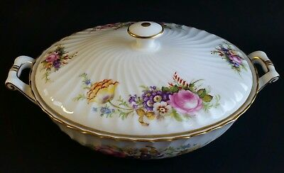 Foley Bone China Covered Soup Tureen