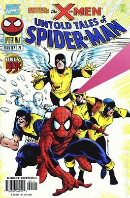 Untold Tales of Spider-Man #21 1997 VG Stock Image Low Grade