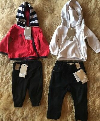 Mixed Baby Boy Clothes. Jeans, Leggings, Hooded Jumpers. 0-6M. New.