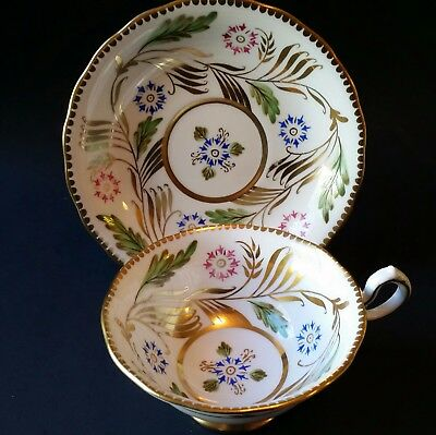 Royal Chelsea Cup and Saucer - Very Wide Mouth