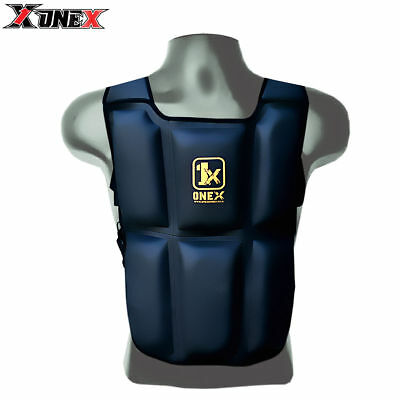 Weighted Vest 12kg Home Gym Running Fitness Training Weight Loss Strength Jacket
