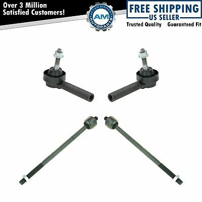 Tie Rod End Kit Inner Outer LH RH Set of 4 for Grand Caravan Town & Country New