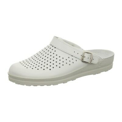BECK Theo 7004 Clogs Mule Men White Perforated