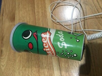 Vintage Novelty Telephone , Soft Drink Cup .