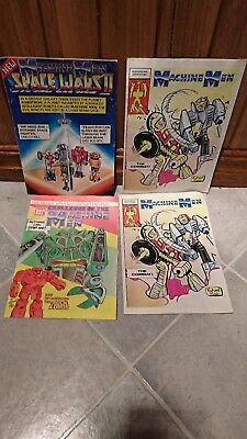 Machine Men Comics