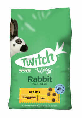 *new* Wagg Bunny Brunch Small Animal Rabbit Food Feed *nugget Only* 10,20,30Kg