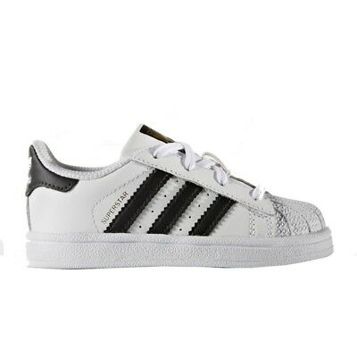 low priced 4009f 2a458 Adidas Superstar I Scarpe Sneaker Bambini Bianco BB9076-FTWWHT CBLACK FTWWHT