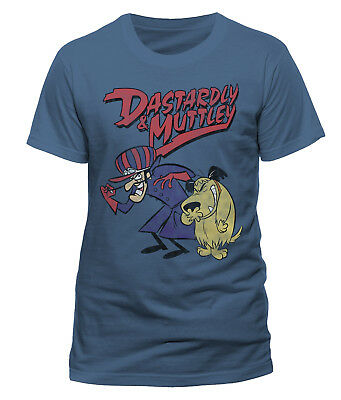 Wacky Races 'Dastardly & Muttley' T-Shirt - NEW & OFFICIAL!