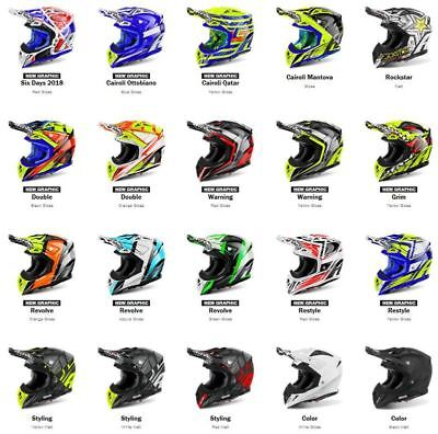 2018 AIROH Aviator 2.2 Motocross Helmet Peaks Free Express Eu Delivery