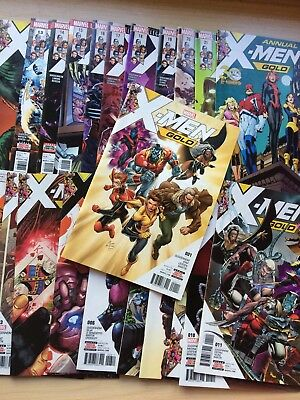 X-Men: Gold issues 1 - 21 + Annual FIRST PRINTING SYAF ISSUE 1