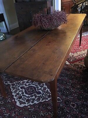 1800's Walnut  harvest farm table