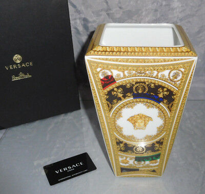 Rosenthal Versace I Love Baroque and Roll  Vase 24 cm 1 A Neuware & Ovp