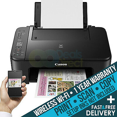 Canon PIXMA TS3150 (replaces MG3050 ) All-In-One Wireless WiFi Printer Only Deal