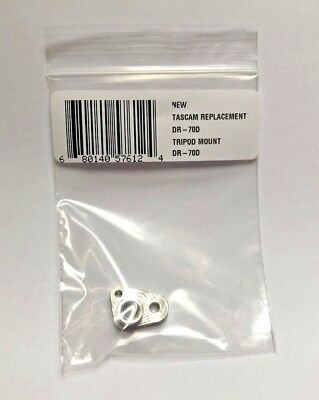 Replacement Tripod Mount 1/4-20 Reciever for Tascam DR-70D Machined SOLID METAL