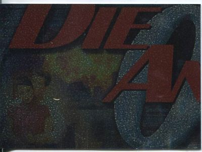 James Bond Die Another Day Montage Chase Card #4