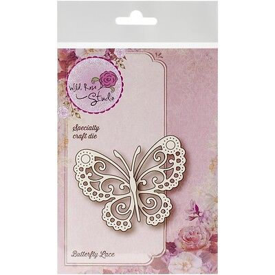 """Wild Rose Studio Specialty Die 2.5""""X3.25"""" -Butterfly Lace"""