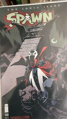 Spawn (1992) # 100  Mint  VARIANT cover E by Mike Mignola
