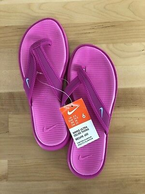 a1cddddf02df9 Nike Ultra Celso Thong Women s Fire Pink Flip Flops - Sizes 6-11 Available