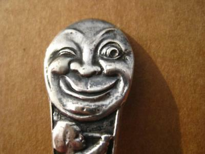 Vintage Sterling Silver Baby Spoon THE MAN IN THE MOON Whiting Silver Co 18 Gram