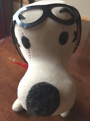 Snoopy - Peanuts plush vintage Stuffed Toy - Flying Ace - Japan