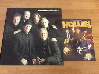 Fully signed The Hollies Programme 40th Anniversary 2003