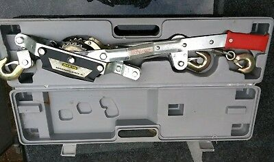 Horizontal Puller hand winch boxed