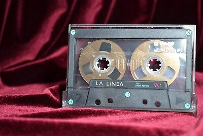 【ツ】⏏️ 1x Sound Tape 5 Reel to Reel . BASF La Linea Maxima limited Tape Metal