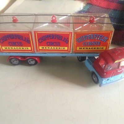 Corgi Chipperfields Circus Artic And Trailer With Cages
