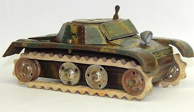 Alter Gama Tank Sanitäts Panzer Mimigry Toy Soldiers Blechspielzeug
